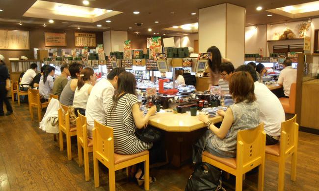 Kura le fast food japonais du sushi frais adios paris - Restaurant japonais tapis roulant paris ...